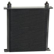 Derale Stacked Plate Fluid Cooler 54006 13.688h X 13w -6 An Inlet/outlet