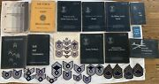 Vintage Military Rotc Lot United States Air Force Manualsguidescareerspatches