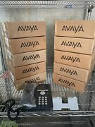 Lot Of 10 Avaya 9620c Ip Business Office Telephones W/ Stands And Handsets