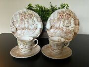 Lenox Gallery Of Gifts Young Lady's Tea Set By June Amos Garmmer