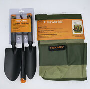 Fiskars Garden Tool Set And Bucket Caddy Perfect Gift For Your Garden Lover 