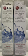 Lg Lt700p Refrigerator Water Filter 2 Pack Adq36006101 Sealed In Retail Boxes