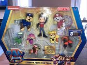 Paw Patrol The Movie Liberty Joins The Team Figure 8-pack Target Exclusive New