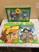 Leap Frog Book Pirates + Finding Drago And Leapster Pack Total 3 Andiacutetems New