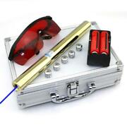 High Power All Copper Most Powerful Blue Laser Sight Pointer 450nm1000m Burn