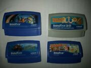 4 Vtech Innotab Lot Hand-held Learning Game System Touch Screen Games Set