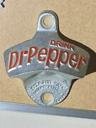 Vintage 1925 Dr. Pepper Wall Bottle Opener - Starr X, Brown Co. Mint Condition