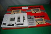 Lionel Fastrack 4  6-12047 O-72 Wye Remote Switches Sold As [1] Lot New