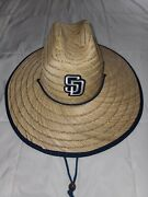 San Diego Padres Confiscated Straw / Sun Hat Brand New Sept. 1, 2018
