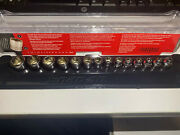 Snap-on 14-piece 1/4 Drive Metric Extra Shallow Chrome 6-point Socket Set New