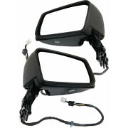For Mercedes-benz Cls63 Amg S Mirror 2014-2018 Lh And Rh Pair Power Folding Heated