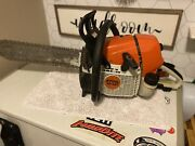 """Stihl Gs 461 """"rock Boss"""" Concrete Chainsaw-used For One Job"""