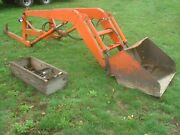 1954 Allis Chalmers Wd45 Tractor Front End Loader