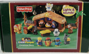 Fisher Price Little People Christmas Story Nativity Set 2005 - Music And Lights