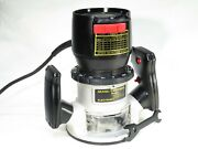 Vintage Craftsman Variable Speed Router - W/ Lamp - Runs And Looks Excellent