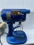 Original 1930's Kitchenaid Model G Stand Mixer With Bowl And Attachments