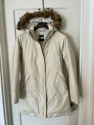 The Arctic Down Parka Womenand039s Small Tan Down Fill Water Resistant