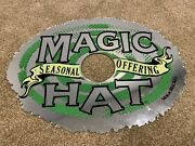 Magic Hat Advertising Glass Mirror - 20 X 15 - Rare Brewery Beer Ale Ad Piece