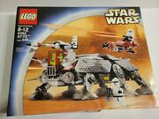 Lego Star Wars At-te Set 4482. New In Factory Sealed Box. Box Has Wear
