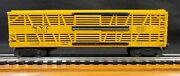 Lionel Trains Rolling Stock Pw Car 6356 New York Central Bi-level Stock Car863