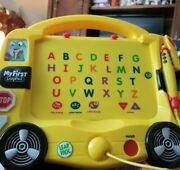 My First Leap Pad Alphabet Bus Learning System By Leap Frog,