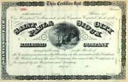 18__ St Paul And Sioux City Rr Stock Certificate