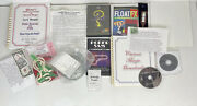 Magic Trick Lot - Dvds, Tricks, Magazine, Linking Rings, Rings On Rope, More