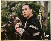 Donnie Yen Signed 11x14 Photo And039star Wars Rogue One Ip Manand039 Jsa Coa