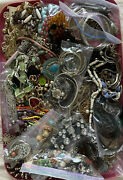 10 Pounds Vintage To Modern Huge Lot New Junk Craft Glass Faux Pearl And+