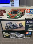 Tamiya Car Model Pieces Set With Spare Decals _91130