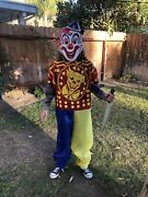 Rob Zombie's Young Michael Myers Clown Halloween Boys/adult Costume W/2 Masks