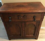 Jelly Cupboard/cabinet Wood Mid To Late 1800s