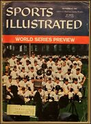 9/28/1959 Sports Illustrated Chicago White Sox World Series Preview Al Champs