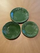 Lenox Rustic Pine Service For 8 Holiday Set - Dinner / Salad Plates And Bowls Euc