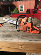 Husqvarna 2100 Cd Chainsaw With Extra Parts