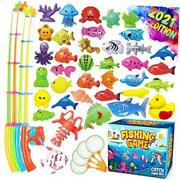 Magnetic Fishing Game Pool Toys For Kids - Magnetic Fishing Toy For Toddlers