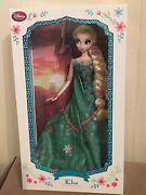 Elsa Frozen Fever Disney Store Limited Edition 17andrdquo Doll