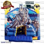 15x13ft Inflatable Batman Bounce House And Combo With Air Blower