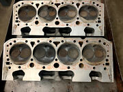 Brodix Small Block Chevy Sbc Ported Dirt Legal Heads - Jesel Rocker Arms