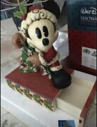 Disney Traditions Large Mickey Mouse, Rare, Retired, Jim Shore, Showcase