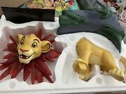 Disney The Lion King Simba,large Figurine, Statue,+certificate Of Authenticity