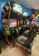 Fast And Furious Sit Down Arcade Driving Video Game Machine ------ Paul Walker
