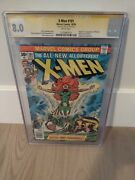 X-man 101 Marvel Comics Signed By Stan Lee Cgc 8.0