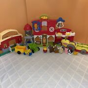Fisher-price Little People Caring For Animals Farm Mixed Huge Lot - New And Used