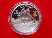 Canada 2012 10 Coin Hms Shannon - The War Of 1812 99.99 Silver Gold Plated