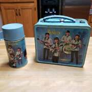 Vintage 1965 Beatles Lunchbox With Thermos - Nice