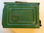 Wwii Metal Ammo Box United Cal .30 M1 Jeep Box Special Latch