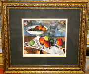 Cezanne Still Life With Fruit Knife Masterpiece Paintings Jigre Prints 47 _93286