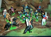 Britains Deetail Battle Of Little Big Horn Us 7th Cavalry And Custer With Indians