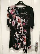 New Tags Wallis Smart Day/evening Top Uk 12 Work Or Going Out Christmas Gift